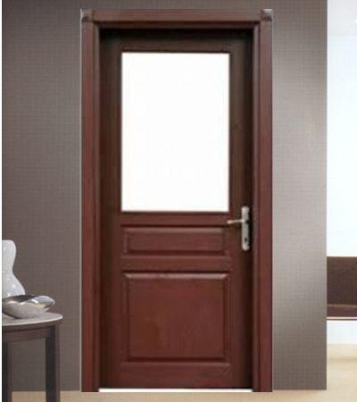 Врата Крафт Мастер Perge със стъкло