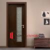 Интериорна Ламинирана МДФ Остъклена модел 5|Ламинирана МДФ Остъклена врата модел 5|цвветове за Ламиниранаи интериорни врати Остъклени