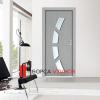Интериорна врата модел 27 MDF|врата 27|Каталог на нови MDF Интериорна врата