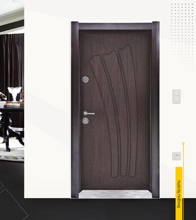 Блиндирана врата модел 36 Венге|врата 36 венге