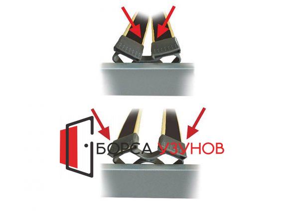 по еластични обувки на Подматрачна рамка Блек Чарм РАКЛА