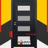 Gradde Blomendal цвят Орех Рибейра|Размери на интериорни врати Gradde|крило на врати Gradde|размери на врати Gradde