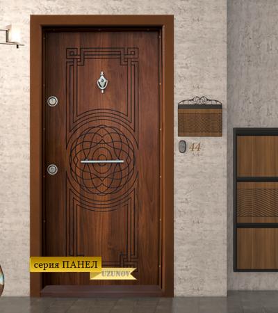 Блиндирана врата Т110 Златен дъб