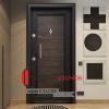 Блиндирана врата Т369