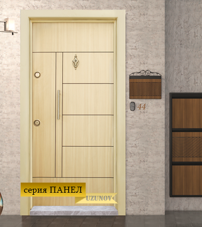 Блиндирана врата Т587 Зебра