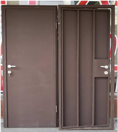 Метални врати за апартаменти и мазета