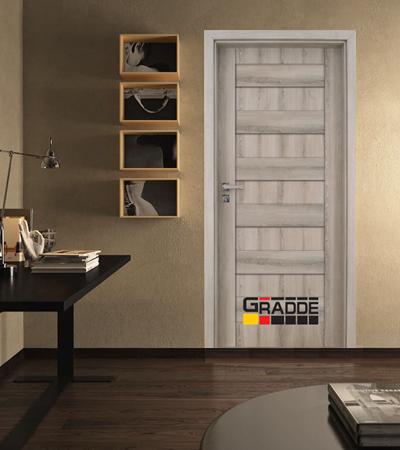 Врата Gradde серия Aaven модел Full Ясен Вералинга