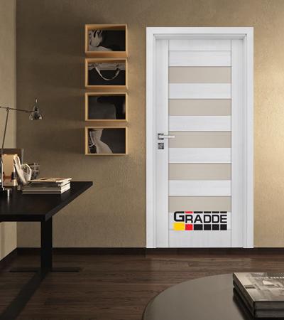 Врата Gradde серия Aaven модел Glas Сибирска Лиственица