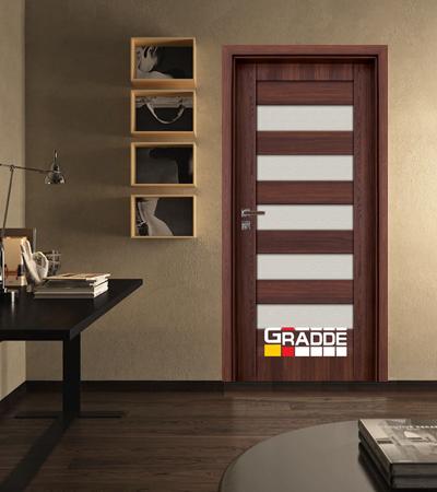 Врата Gradde серия Aaven модел Glas Шведски Дъб