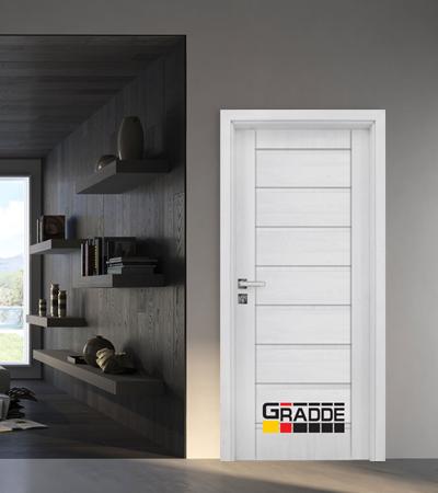 Врата Gradde серия Axel модел Full Сибирска Лиственица