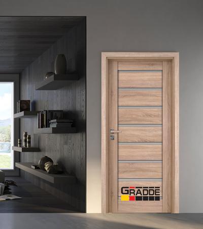 Врата Gradde серия Axel модел Glas Дъб Вераде
