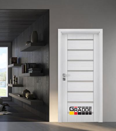 Врата Gradde серия Axel модел Glas Сибирска Лиственица