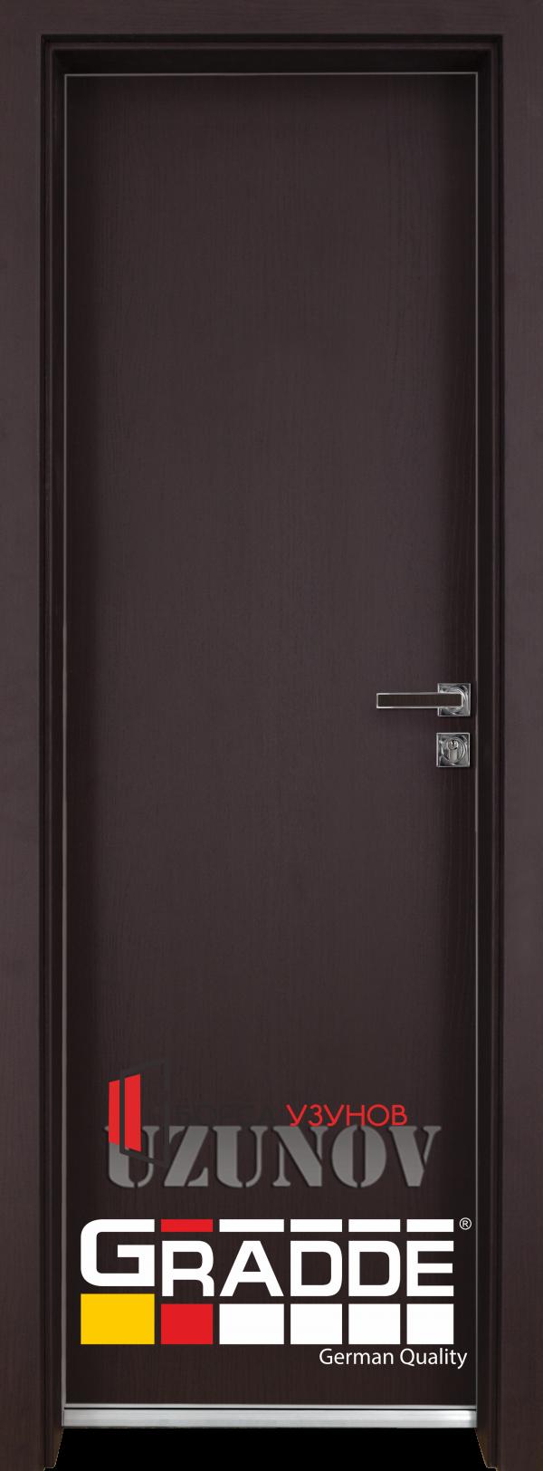 Алуминиева врата GRADDE цвят Ribeira в Софоя