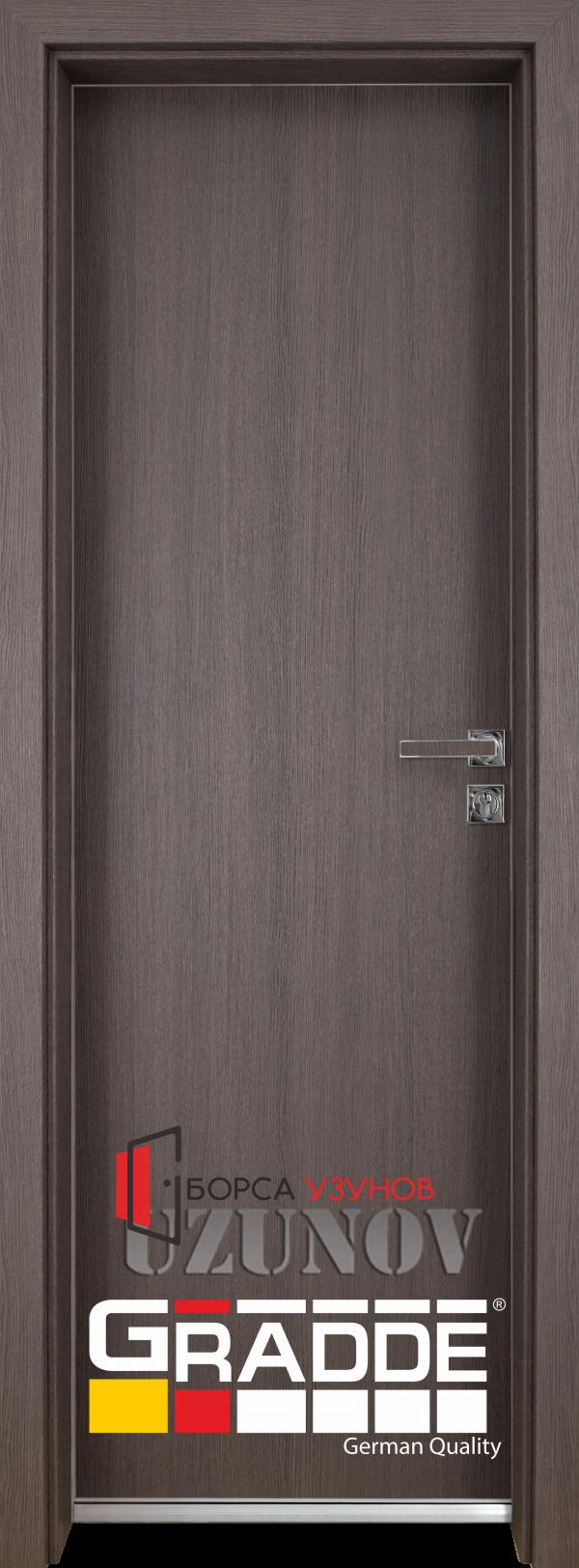 Алуминиева врата GRADDE цвят SanDiego от УЗУНОВ в София
