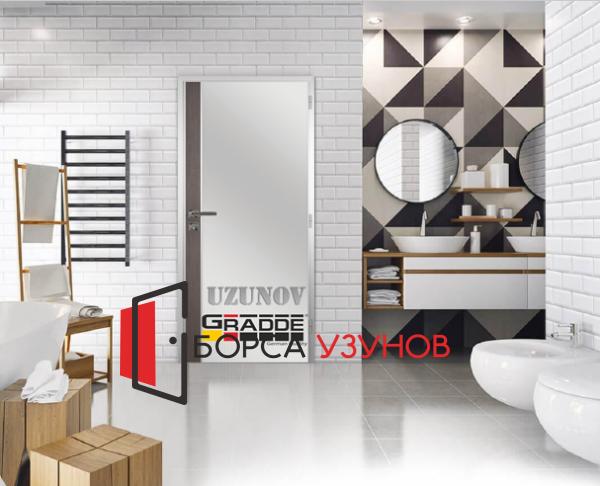 Алуминиева врата GRADDE цвят SanDiego от УЗУНОВ