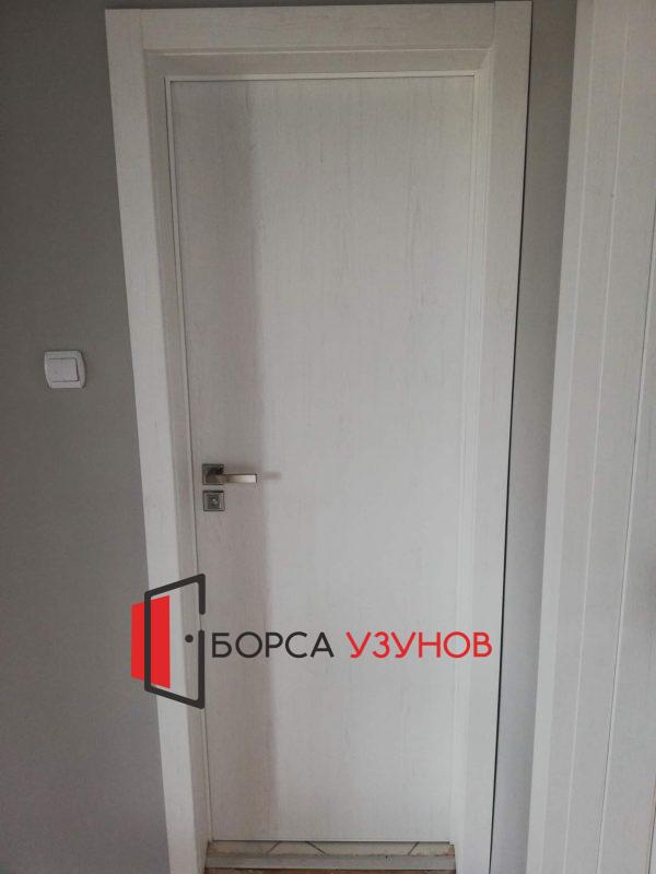 Алуминиева врата с обличаща каса в София от Узунов