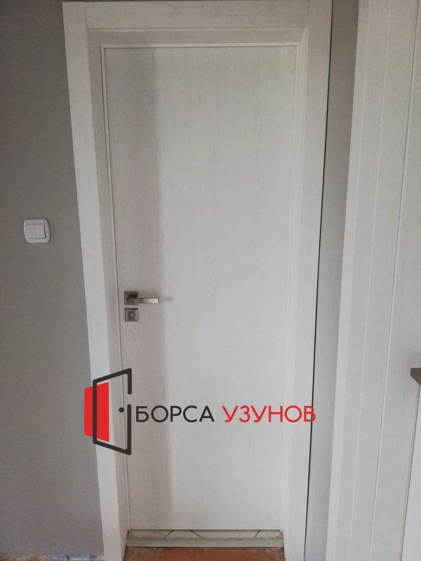 Алуминиева врата с обличаща каса в София