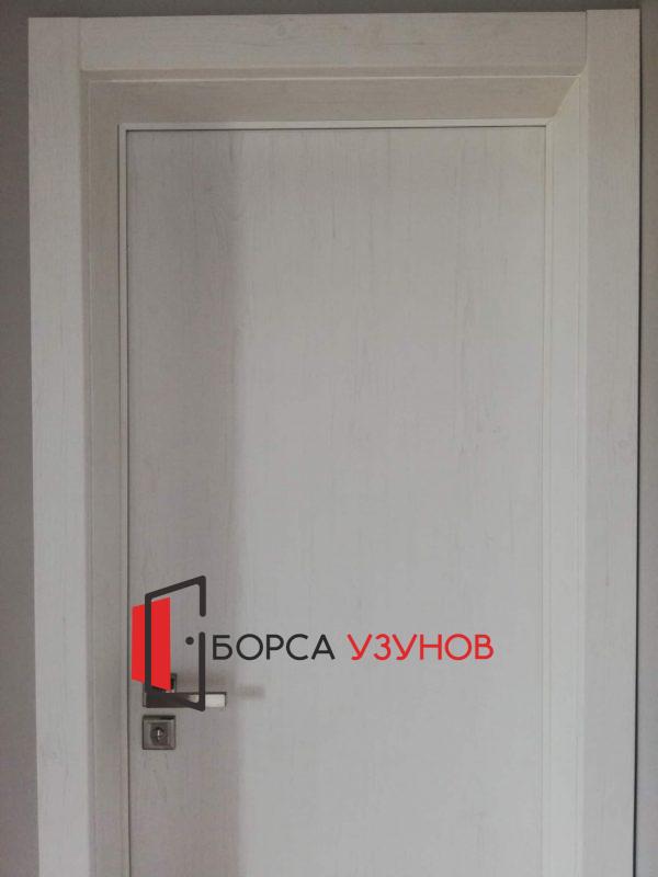 Алуминиева врата с обличаща каса от Узунов в София