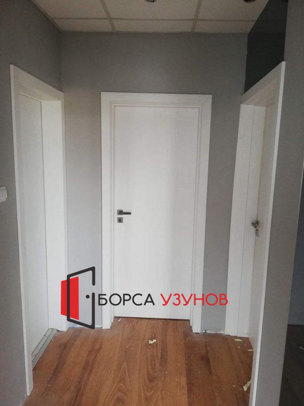 Алуминиева врата с обличаща каса от Узунов