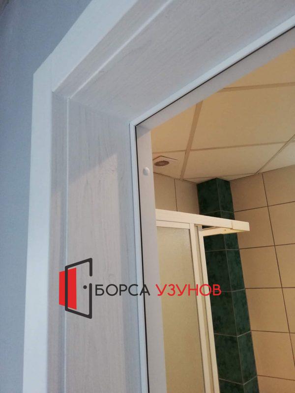 Обличаща каса за алуминиева врата