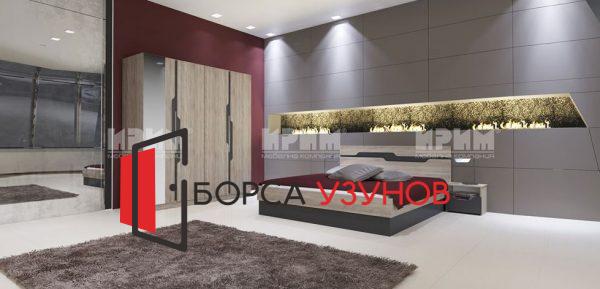 Спален комплект СИТИ 7012 от Узунов