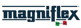 Лого на матраци Magniflex от Узунов