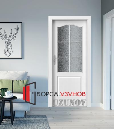 Интериорна врата LONDON модел B Бяла