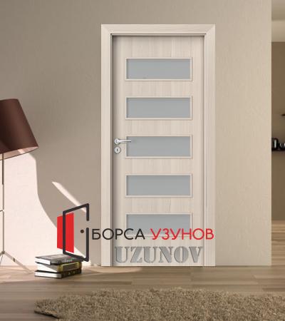 Интериорна врата Porta Fit модел C5 цвят Светъл Орех